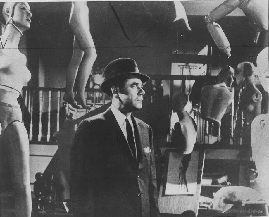 """Glenn Ford in """"Experiment in Terror."""""""
