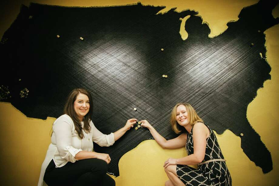 Jill Daniels and Abbie Holland, broker/owners of the new franchise. Photo: Realty ONE Group