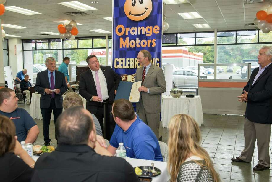 a century of service at orange motors times union