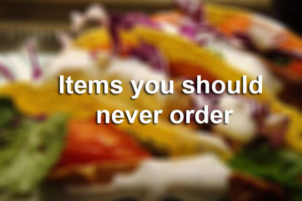 Reddit Users Tell Us All What We Shouldn T Order From Chain