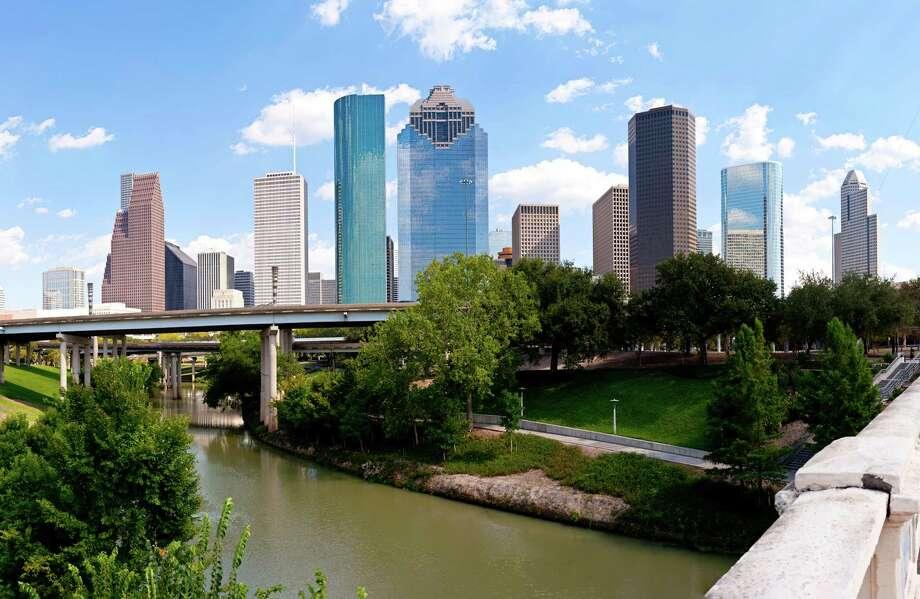 Houston skyline at Buffalo Bayou Bridge (Getty Images) Photo: James Pharaon / iStockphoto
