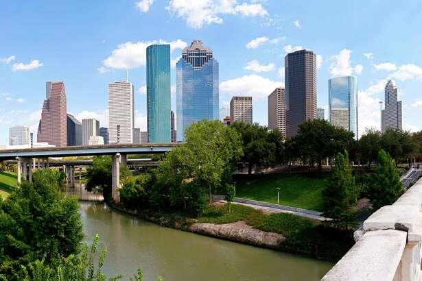 Houston skyline at Buffalo Bayou Bridge (Getty Images)
