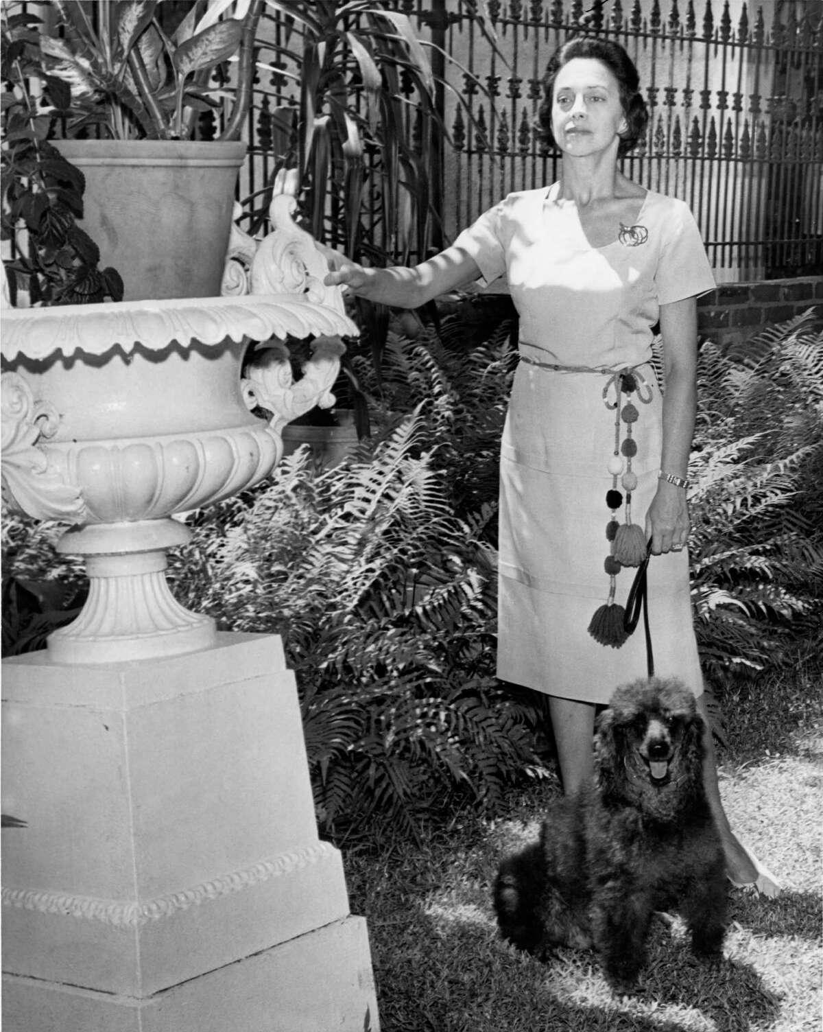 Houston Foun-dation for Ballet's director Tatiana Semenova in 1962.