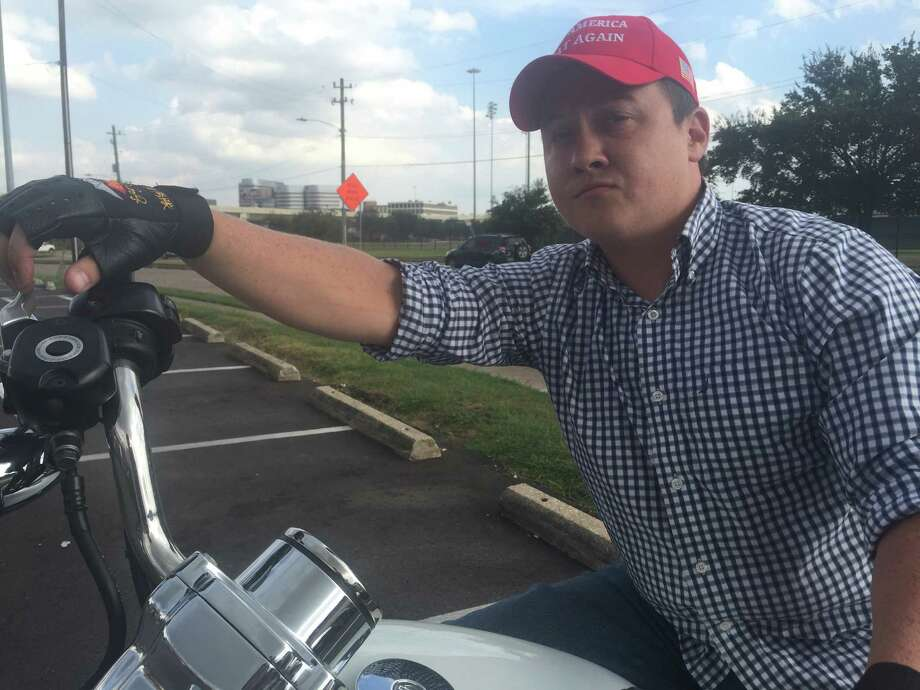 Waller's Cooper Jackson, who started the Houston Area for Donald Trump Facebook page, suspects there will be fraud on Election Day. Photo: Dylan Baddour