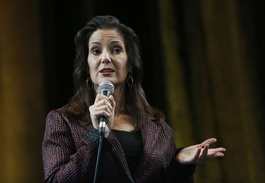 "Mayor Libby Schaaf says Oakland is in a ""horrific federal environment."" Photo: Leah Millis, The Chronicle"
