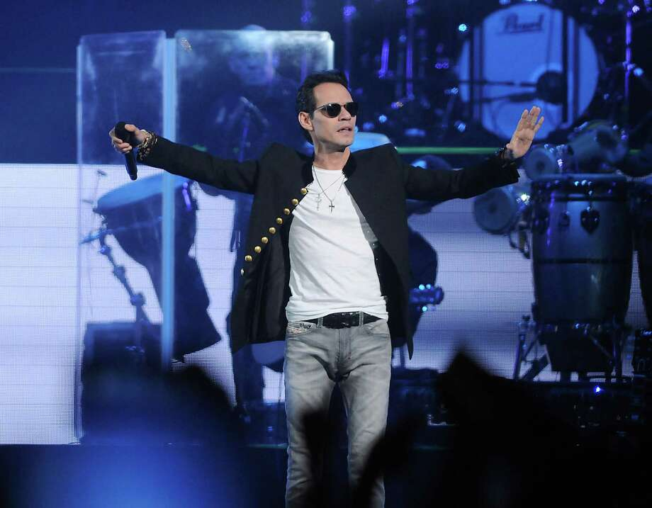 Marc Anthony performs at the Toyota Center on Friday. Photo: Dave Rossman, For The Chronicle / Dave Rossman