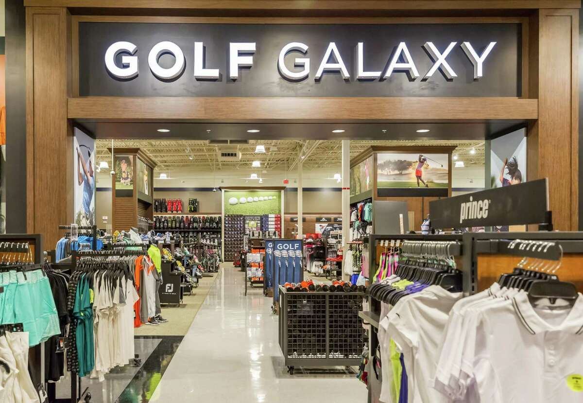 October 13 2016: Golf Galaxy represents one third of the shopping space at Dick's Sporting Goods in Katy, Texas. (Leslie Plaza Johnson/Chronicle)