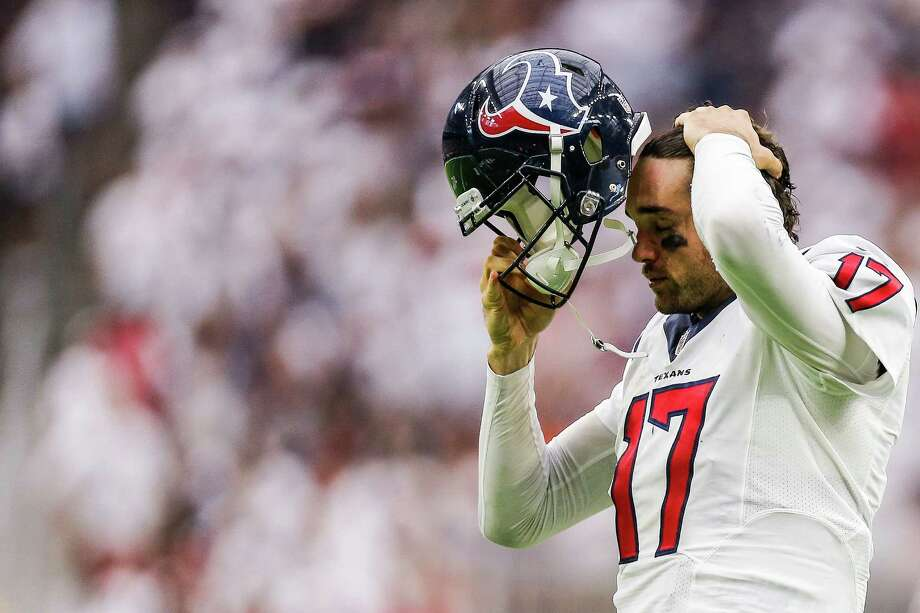Houston Texans quarterback Brock Osweiler will face his old Broncos squad at Sports Authority Field on Monday night. Photo: Michael Ciaglo, Staff / © 2016  Houston Chronicle