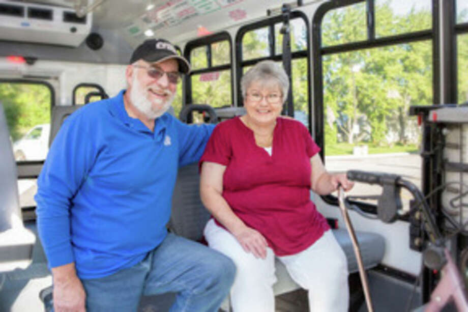After completing therapy programs to help manage the effects of her Parkinson's disease, Sheila Ens once again feels confident in riding the bus to do errands and visit the Senior Center.