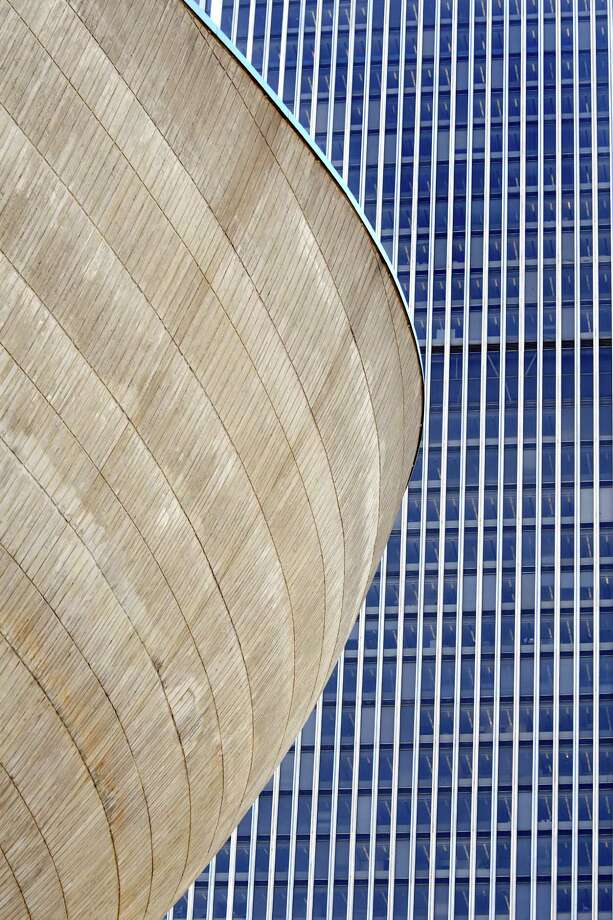 The Egg and the Corning Tower on Wednesday, Oct. 5, 2016, at the Empire State Plaza in Albany, N.Y. (Cindy Schultz / Times Union) Photo: Cindy Schultz / Albany Times Union