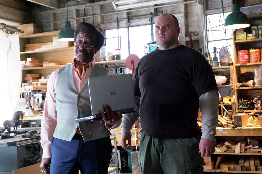"""Clarke Peters (left) plays Carl and Ethan Suplee is a character named D in """"Chance."""" Photo: David Moir / David Moir / Hulu / ©2016 Hulu, All Rights Reserved"""