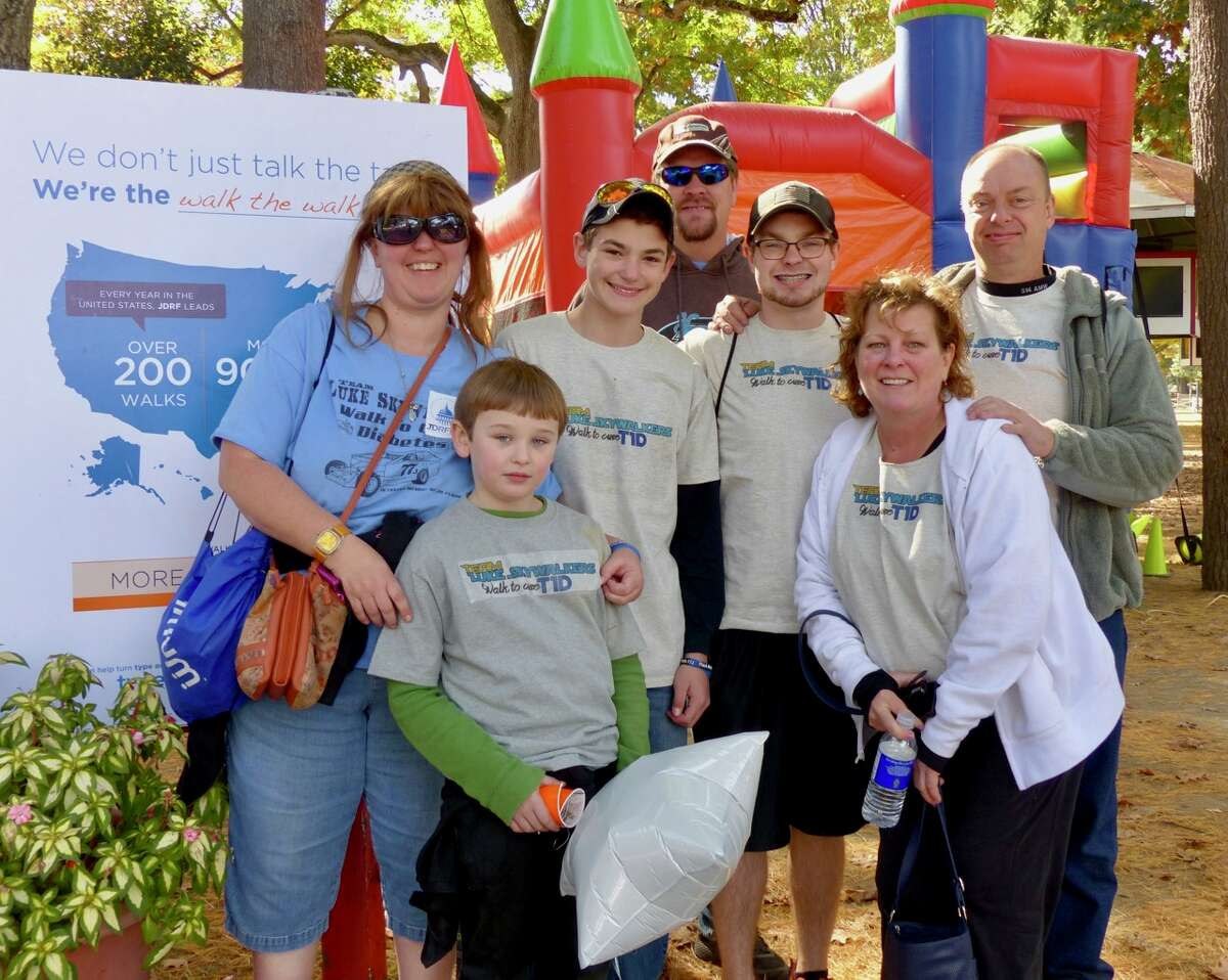Were you Seen at the JDRF One Walk Saratoga annual fundraiser for type 1 diabetes at the Saratoga Race Course in Saratoga Springs on Saturday, Oct. 15, 2016?