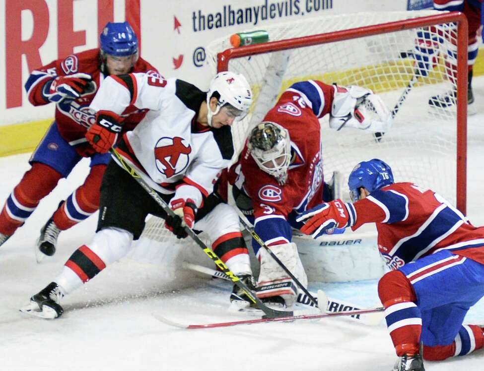 Albany Devils vs. Binghamton Senators.When: Friday, Oct 21, 7 PM. Albany Devils vs. Utica Comets. When: Saturday, Oct 22, 5 PM. Where: Times Union Center, 51 South Pearl Street, Albany. For tickets, visit the website.