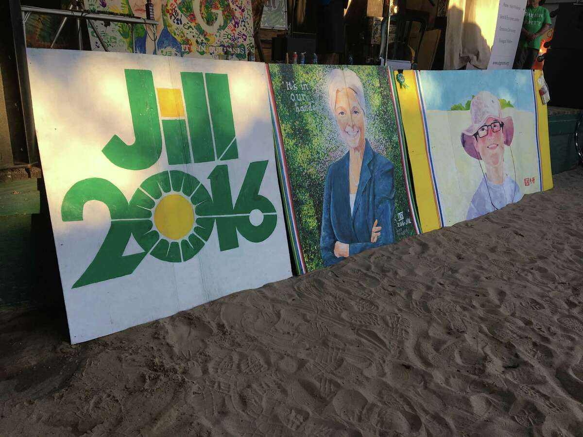 Art by Houston Green Party supporter Don Cook.