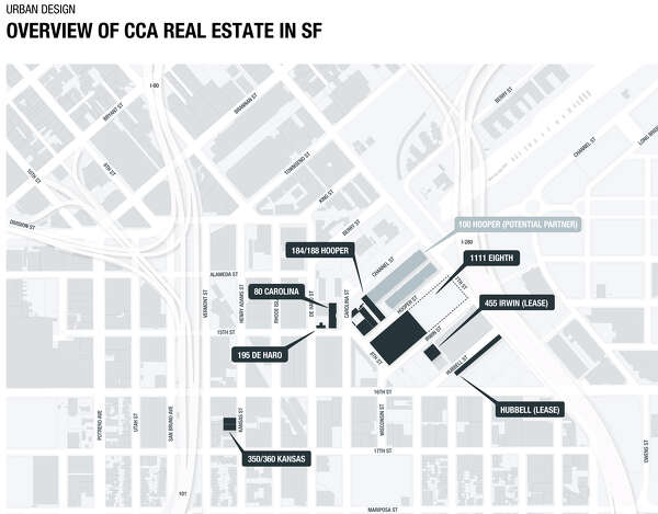 Cca Sf Campus Map.3 Acclaimed Architects In Running To Design Sf Campus Sfchronicle Com