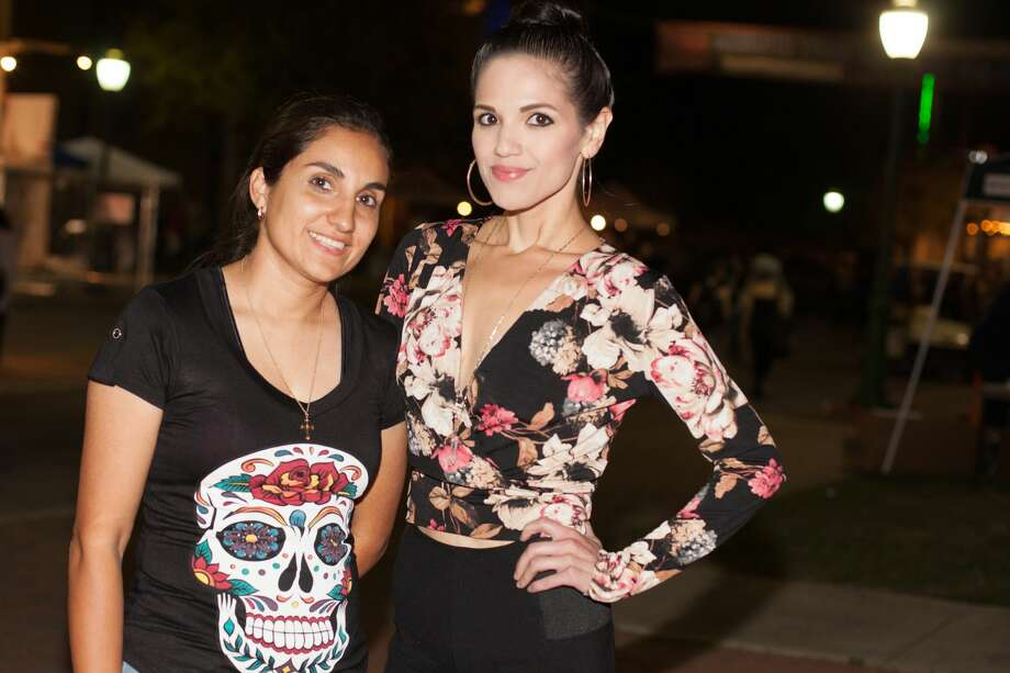 "San Antonio's underground street fashion was on the catwalk Saturday, Oct. 15, 2016, for the annual ""Runway en la Calle,"" part of the avant-garde Una Noche En La Gloria. Photo: By Fabian Villa, For MySA"