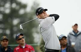 NAPA, CA - OCTOBER 16:  Brendan Steele tees off on the second hole during the final round of the Safeway Open at the North Course of the Silverado Resort and Spa on October 16, 2016 in Napa, California.  (Photo by Ezra Shaw/Getty Images)
