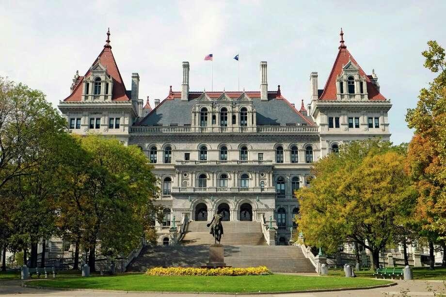 Albany New York State Capitol Building Photo: Dennis Macdonald / dennis macdonald