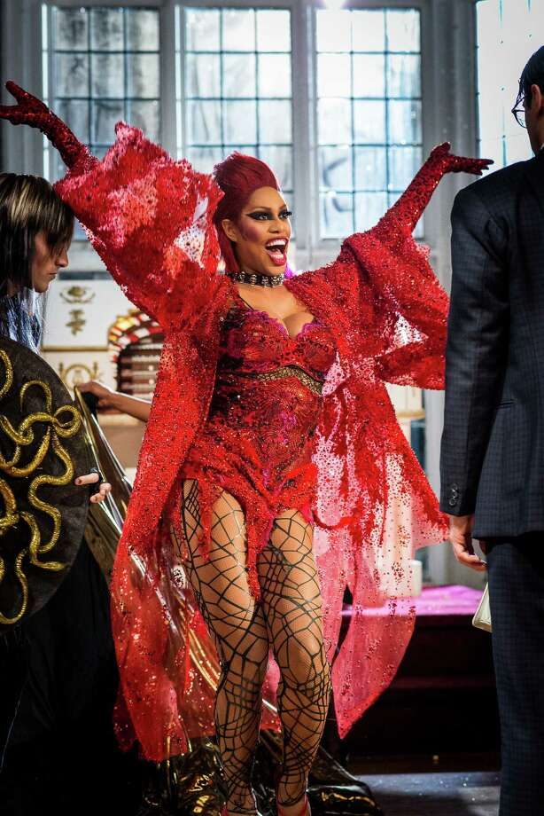 """Laverne Cox on the set of """"The Rocky Horror Picture Show"""" in Toronto, April 16, 2016. A remake of the cult classic movie musical is coming to Fox Oct. 20. (Ryan Enn Hughes/The New York Times) ORG XMIT: XNYT161 Photo: RYAN ENN HUGHES / NYTNS"""