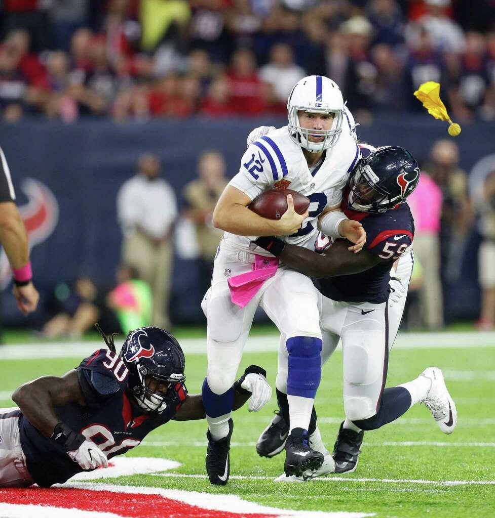 Texans Jadeveon Clowney Whitney Mercilus impress Lions Houston