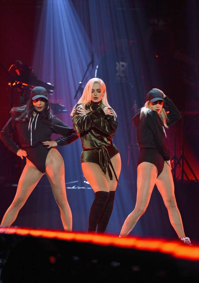 NEW YORK, NY - OCTOBER 15:  Singer Bebe Rexha performs onstage during TIDAL X: 1015 on October 15, 2016 in New York City.  (Photo by Bryan Bedder/Getty Images for TIDAL) Photo: Bryan Bedder/Getty Images For TIDAL