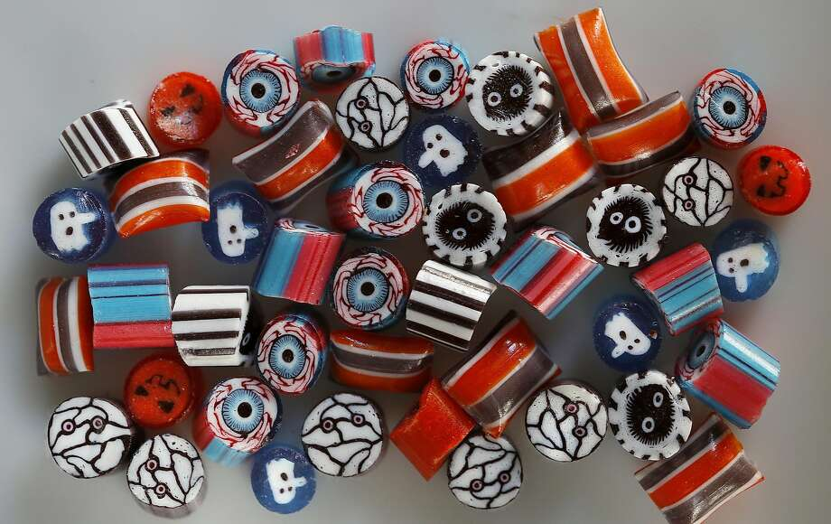 Halloween-themed candy from Papabubble in S.F. Photo: Liz Hafalia, The Chronicle