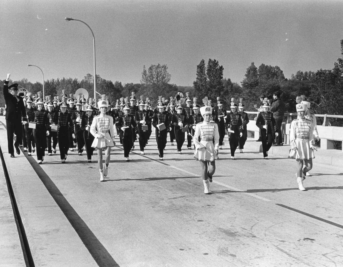 Mark E. Putnam Bridge dedication. October 1968