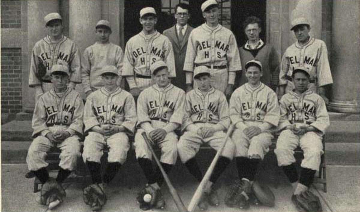 1930 boy's baseball team.