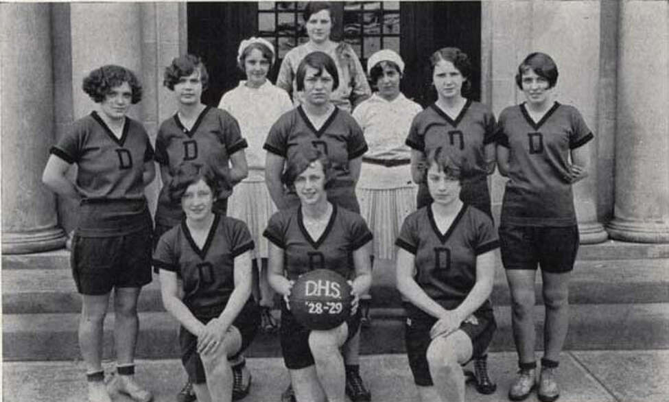 Click through the slideshow to view photos of Bethlehem Central High School's sports teams through the years. 1929 girls' basketball team.