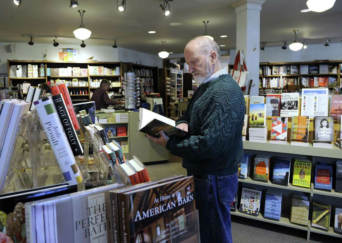 Ted Maymard lives in Tucson, Ariz., but is from Stamford, and goes to the Hickory Stick Bookshop in Washington Depot whenever visiting his daughter, who lives in the area.