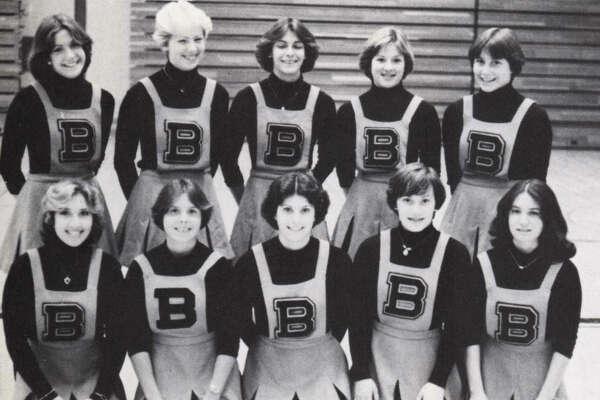 1977 cheerleaders.