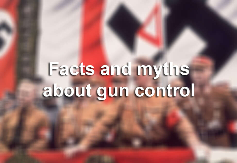 Click ahead to see common facts and myths about gun control. Photo: Hulton Archive/Getty Images