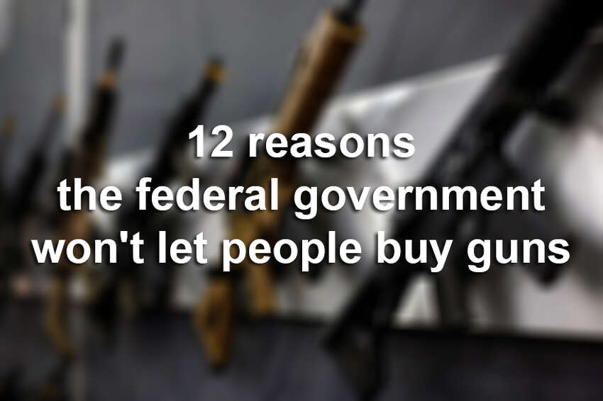 Between Nov. 30, 1998 and December 31, 2014, 1,166,676 requests to buy a firearm were denied. Take a look at the 12 most common reasons and how many times that reason was used to reject a buyer.