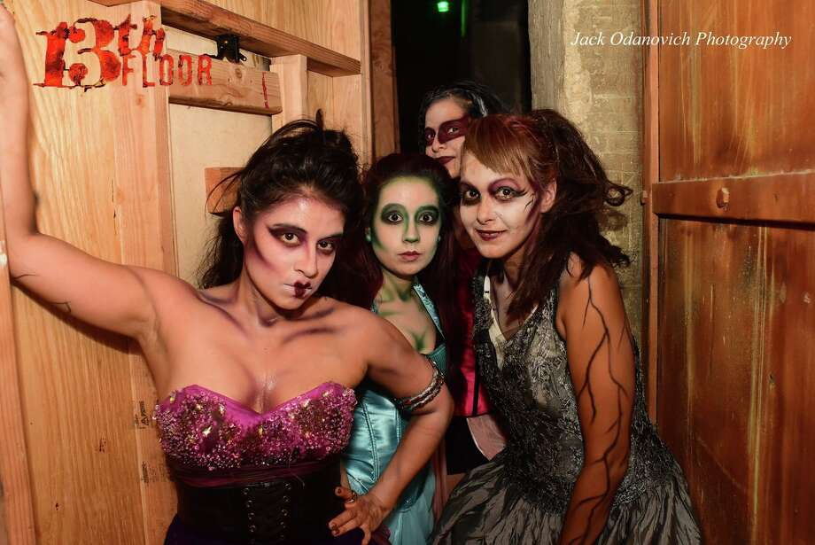 Photos creepy creatures partied with san antonians at for 13 floor haunted house dallas
