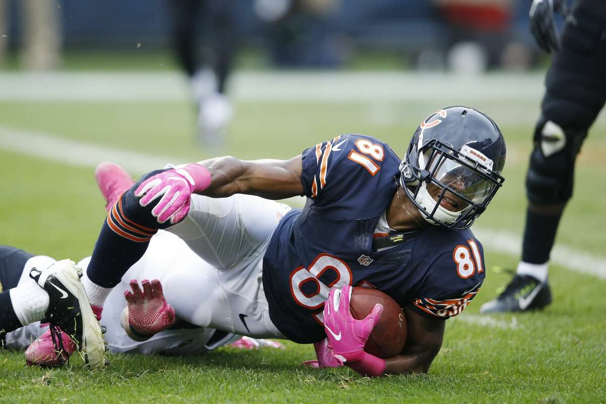 30. Chicago Bears(1-5): Second-year wide receiver Cameron Meredith has 20 catches for 243 yards in Chicago's last two games, but it hasn't been enough for a Bears win in either.Last week: 29