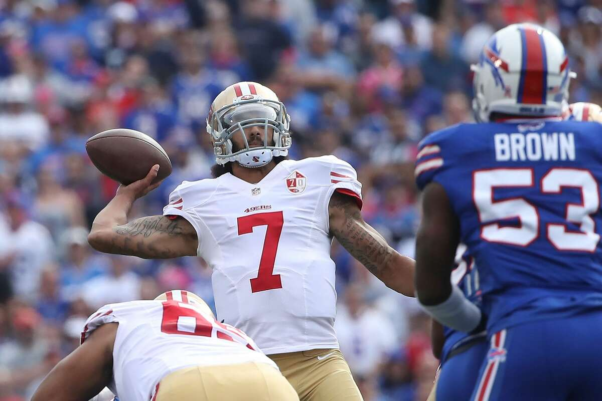 32. San Francisco 49ers (1-5):San Francisco's season seems all but over after losing five straight. Now head coach Chip Kelly should concentrate on figuring out what he has in quarterback Colin Kaepernick.Last week: 30