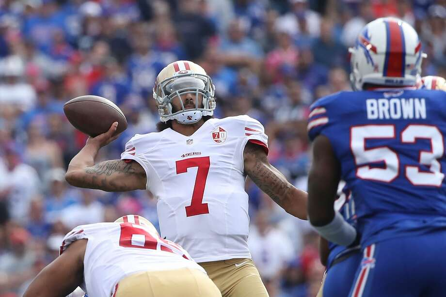 32. San Francisco 49ers (1-5): San Francisco's season seems all but over after losing five straight. Now head coach Chip Kelly should concentrate on figuring out what he has in quarterback Colin Kaepernick. Last week: 30 Photo: Tom Szczerbowski/Getty Images