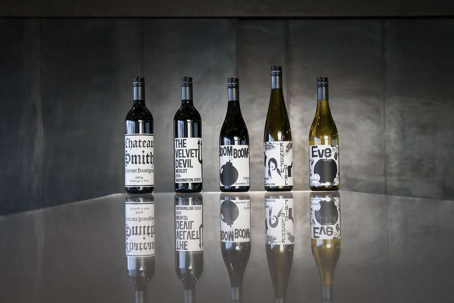 Wines from the Charles Smith Wines portfolio. Photo: Eric Becker