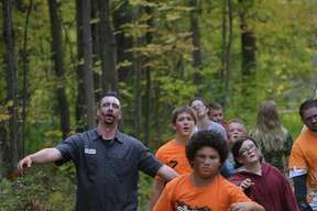 A scene from the  third annual Zombie Run 5K at City Forest on Saturday, Oct. 15, 2016.