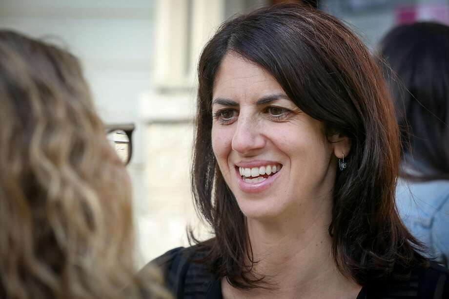 Hillary Ronen will be sworn in as supervisor for District Nine, replacing her former boss, David Campos. Photo: Amy Osborne, Special To The Chronicle