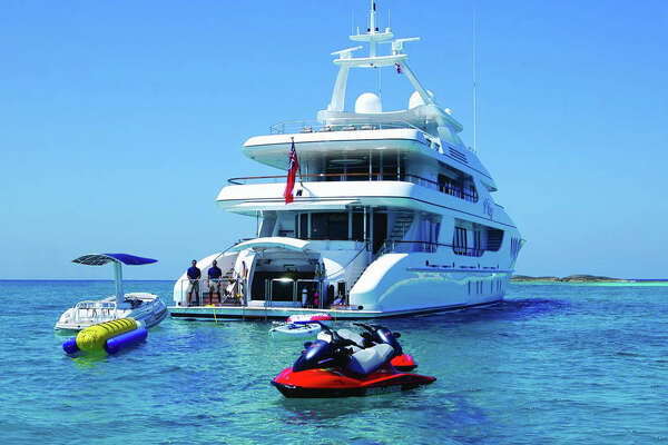 Built by Hakvoort in 2004, and with an impeccable interior designed by the renowned Glade Johnson, ALLEGRIA embraces the best of soft contemporary and traditional elements. From top to bottom, stem to stern, guests have the feeling of limitless options for recreation, dining and relaxing. With four spacious decks, ALLEGRIA allows for a variety of experiences.