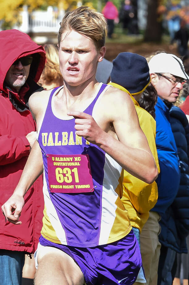 Columbia High graduate Kyle Gronostaj of the UAlbany men's cross country team. (UAlbany sports information) Photo: Bill Ziskin / Copyright Bill Ziskin, all rights reserved.