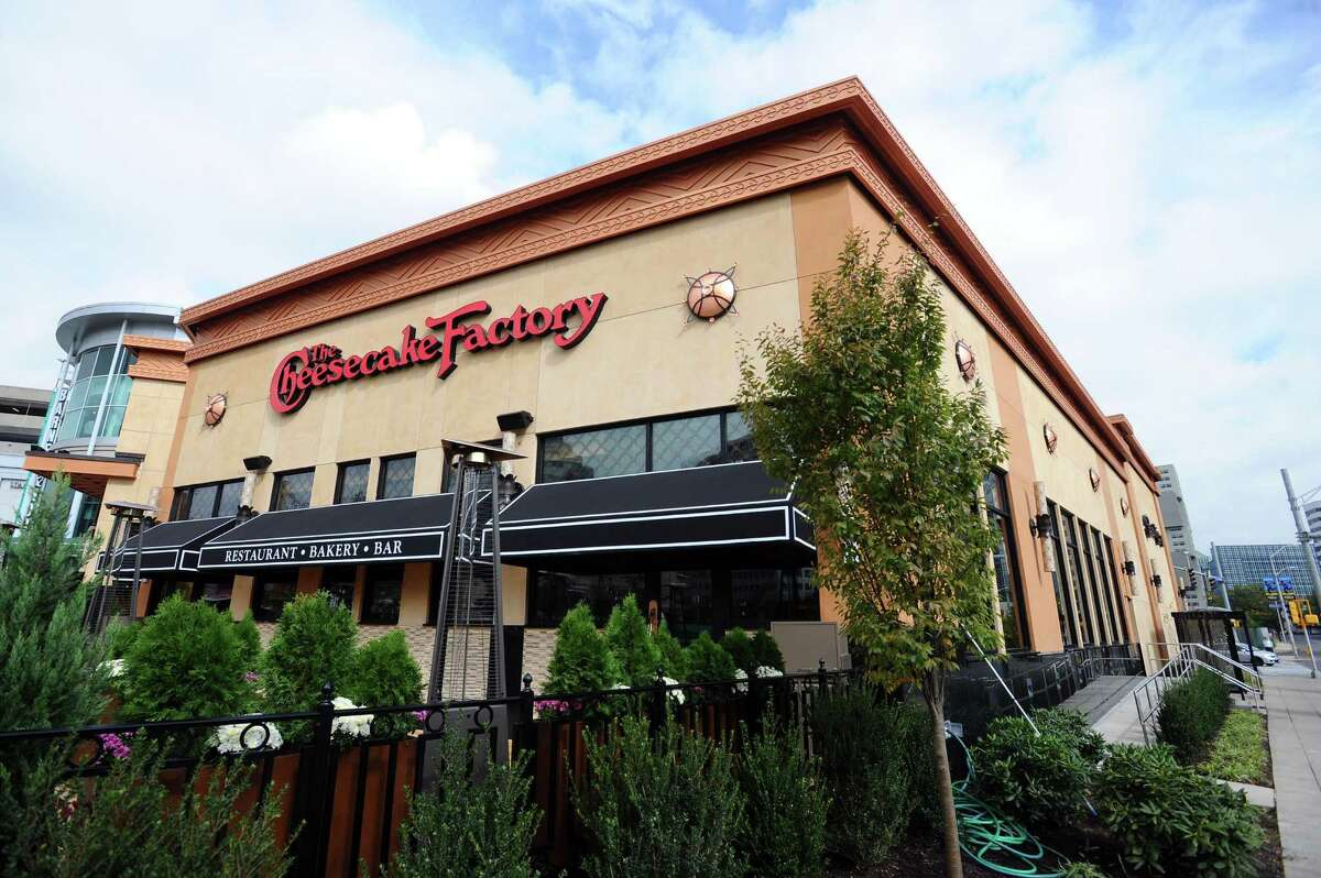 The Cheesecake Factory at the Stamford Town Center mall in downtown Stamford, Conn. will open on Tuesday. Photographed on Thursday, Oct. 13, 2016.