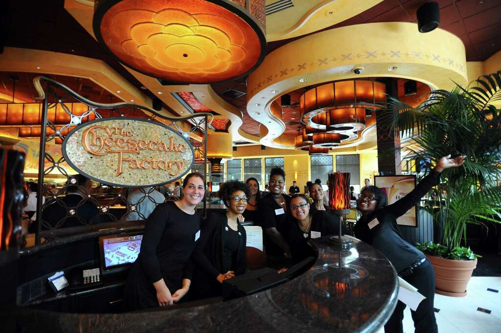 The Interior Of Cheesecake Factory In Stamford Conn Can Be Seen With Its