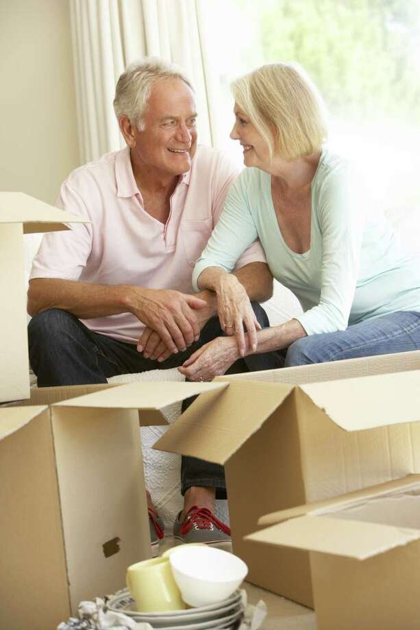A senior move specialist works with clients to determine which possessions will come to the new location and how to disburse the remainder.