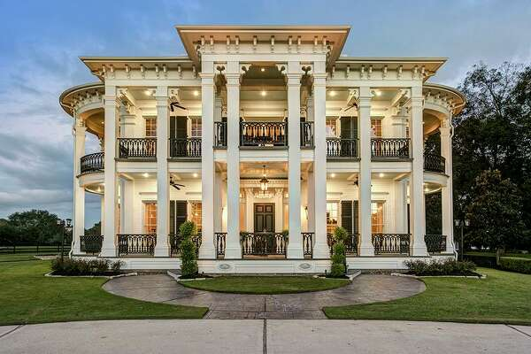 The estate at22402 Holly Creek Trail in Tomball is listed at $3.85 million.