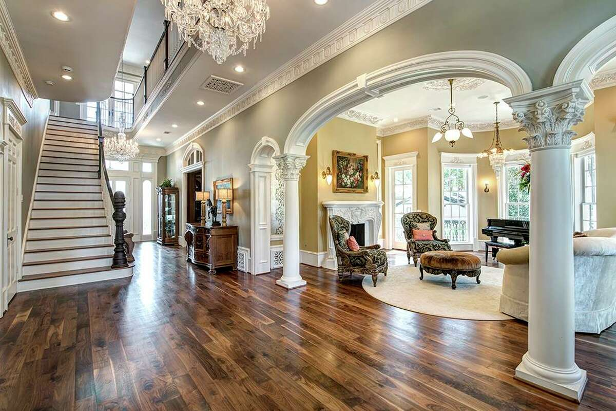 The estate at22402 Holly Creek Trail in Tomball was originally listed at $3.85 million. It's now priced at $3.45 million.
