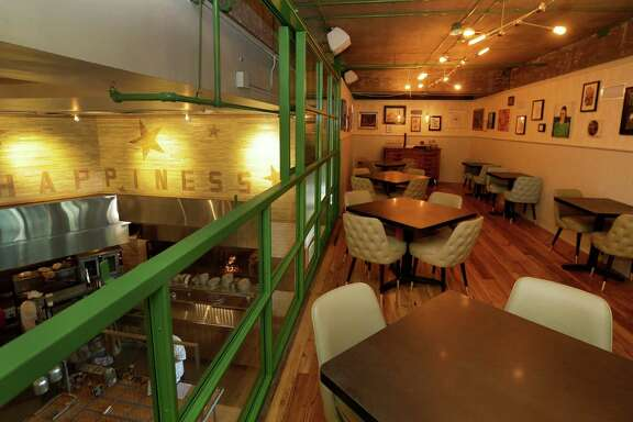 An interior view of Liberty Kitchen at the Treehouse,  963 Bunker Hill Rd., is shown Thursday, Sept. 15, 2016, in Houston.  ( Melissa Phillip / Houston Chronicle )