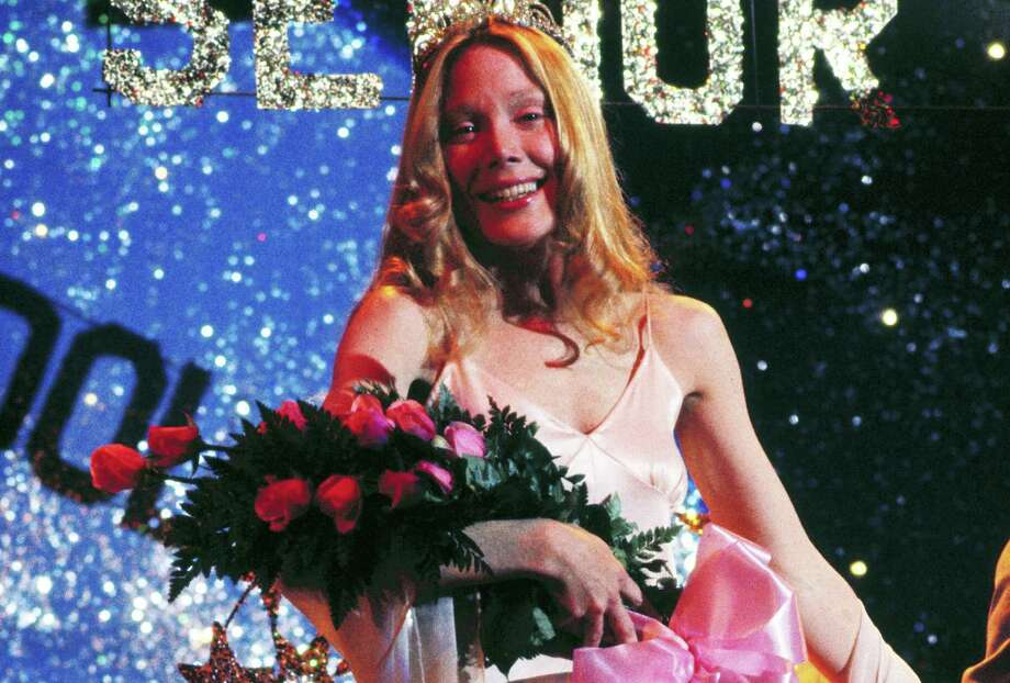 This is just about the first and last happy moment in Carrie White's life. Photo: Silver Screen Collection /Getty Images / 2012 Silver Screen Collection