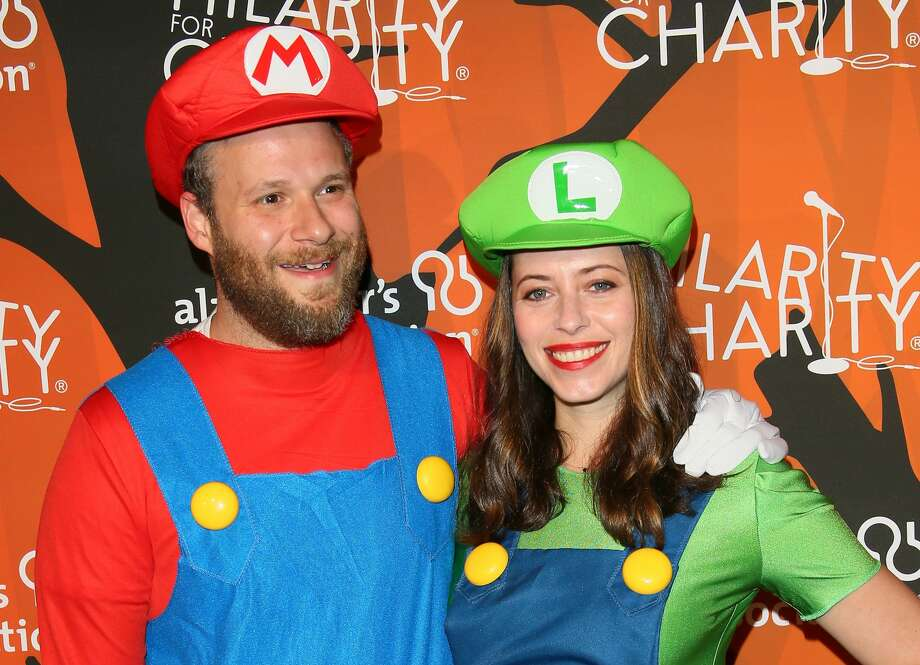 LOS ANGELES, CA - OCTOBER 15: Lauren Miller and Seth Rogen attend Hilarity for Charity's 5th Annual Los Angeles Variety Show: Seth Rogen's Halloween at Hollywood Palladium on October 15, 2016 in Los Angeles, California. (Photo by JB Lacroix/WireImage) Photo: JB Lacroix/WireImage